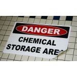 Danger Chemical Storage Area