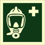 Emergency evacuation breathing device